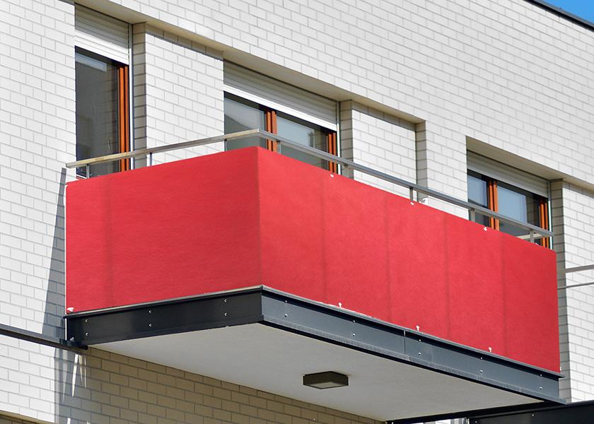 przesłona na balkon